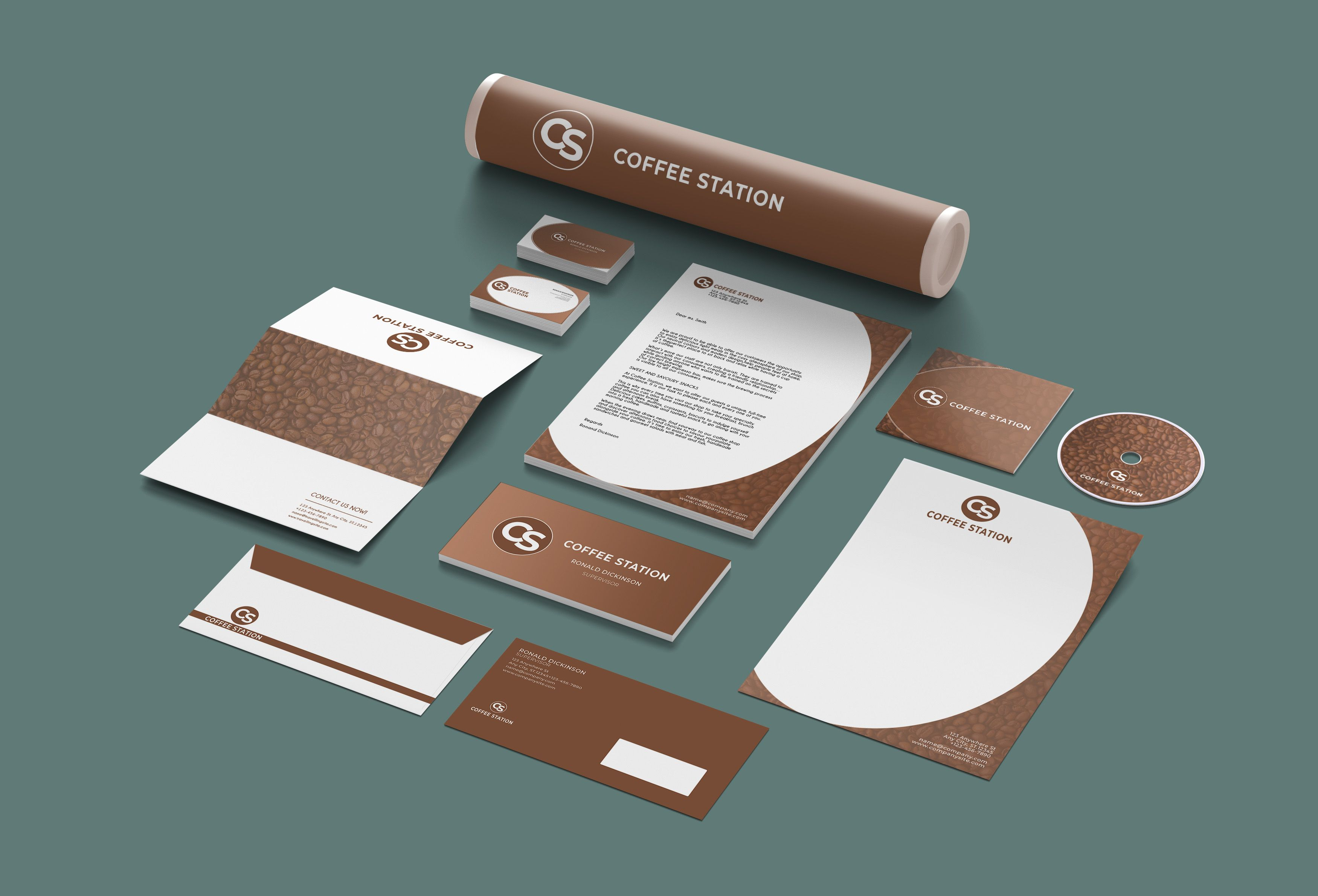 Branding Identity - 15 PSD Templates Screenshot 4