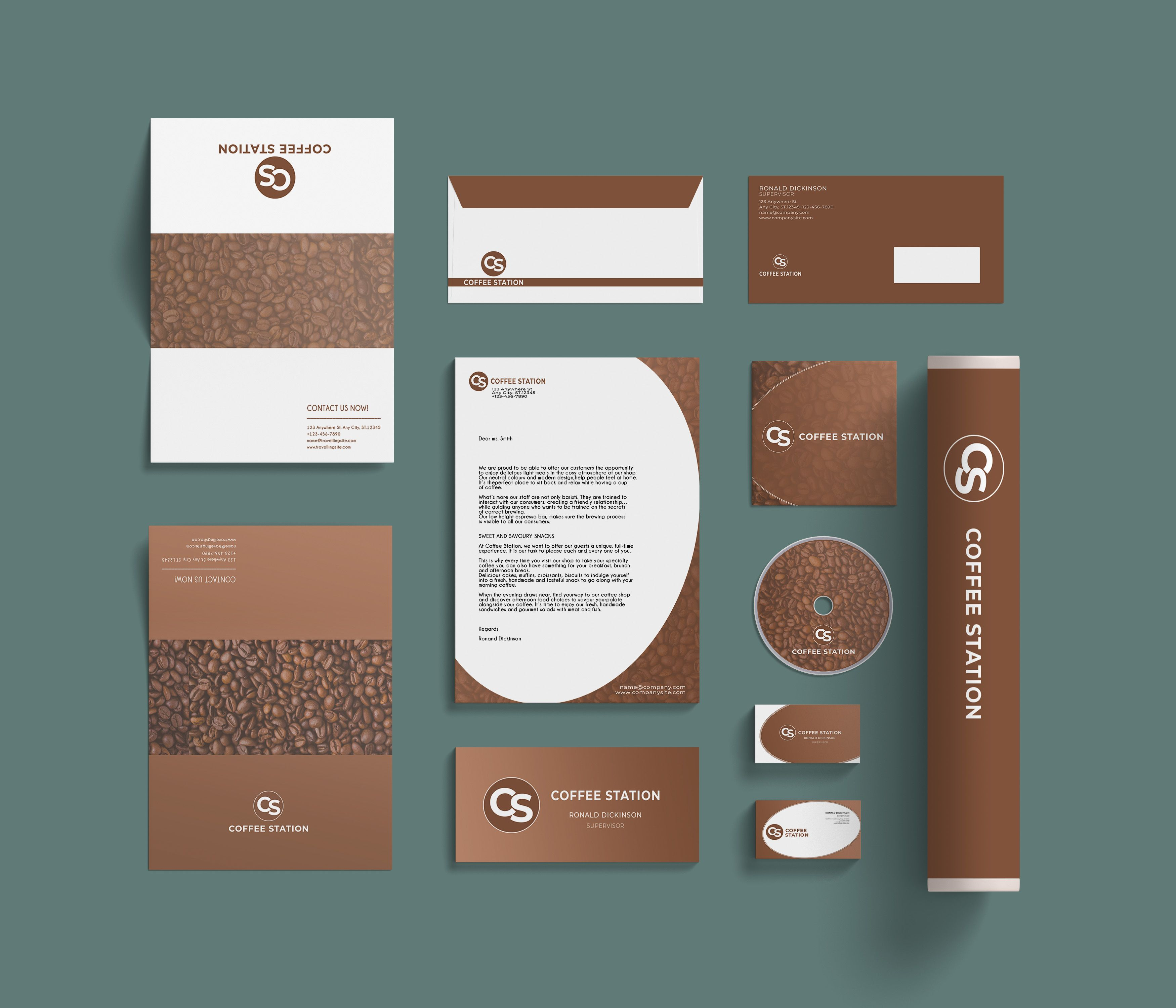Branding Identity - 15 PSD Templates Screenshot 6