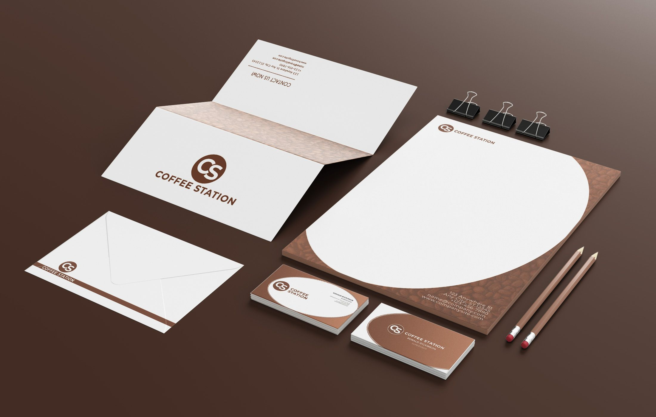 Branding Identity - 15 PSD Templates Screenshot 7