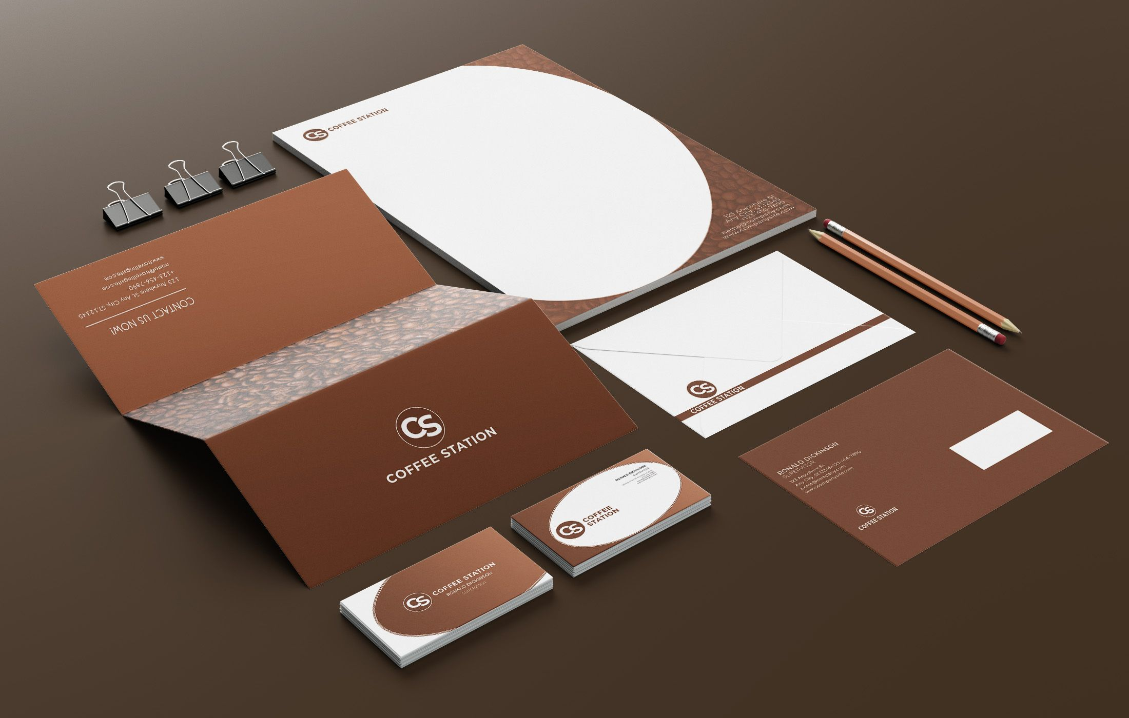 Branding Identity - 15 PSD Templates Screenshot 8