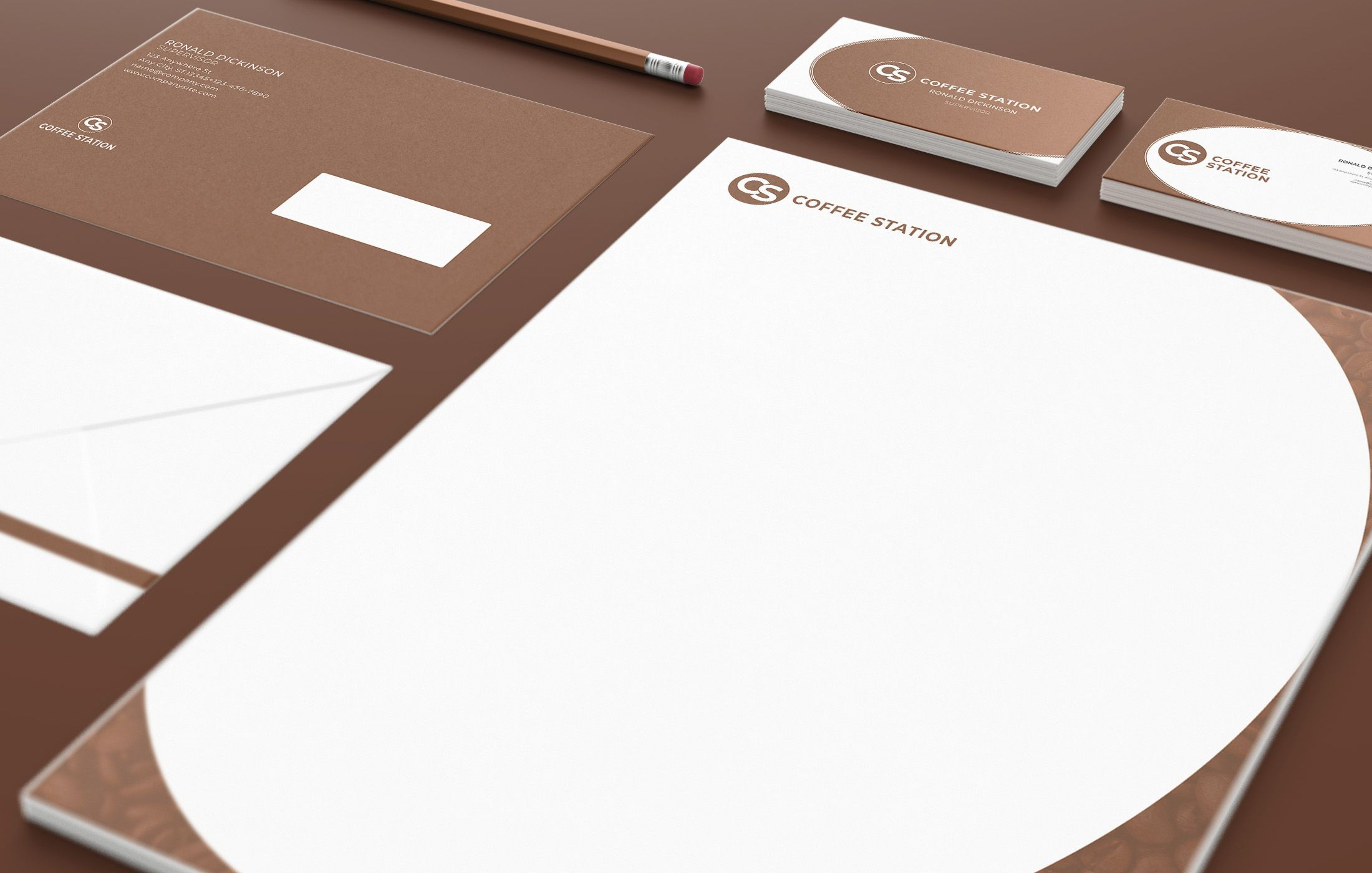 Branding Identity - 15 PSD Templates Screenshot 9