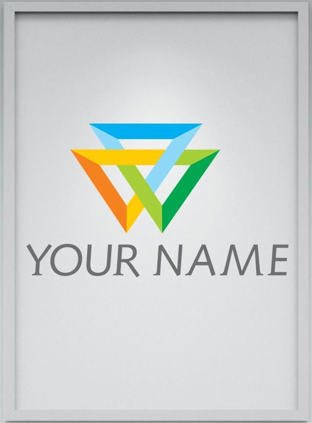 V-Projects Logo Template Screenshot 1