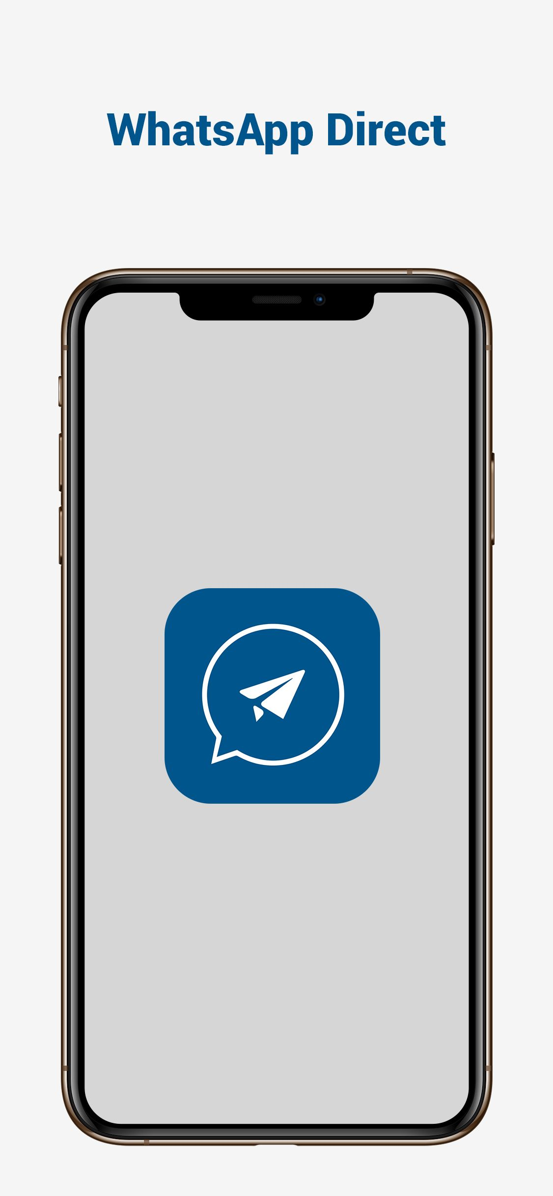 WhatsApp Direct - Send Message Without Contact iOS Screenshot 1