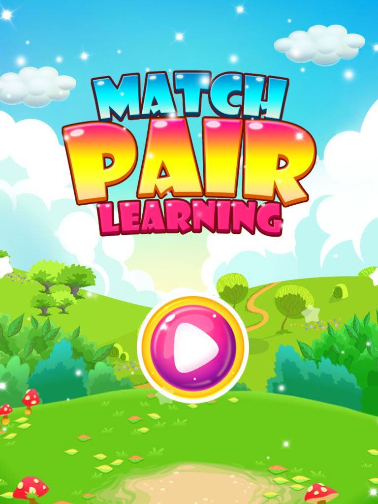 Match Pair Learning Puzzle Game - iOS App Template Screenshot 1