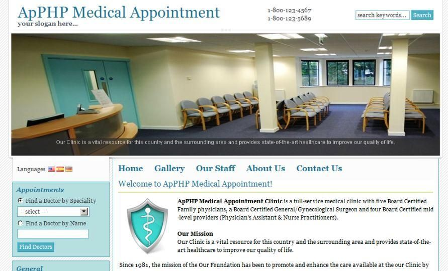 PHP Medical Appointment Script  Screenshot 5