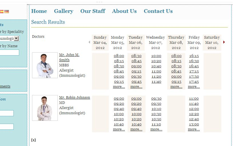 PHP Medical Appointment Script  Screenshot 6