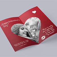 Bi-Fold Valentine Printable Cards