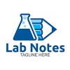 labs-notes-logo-template