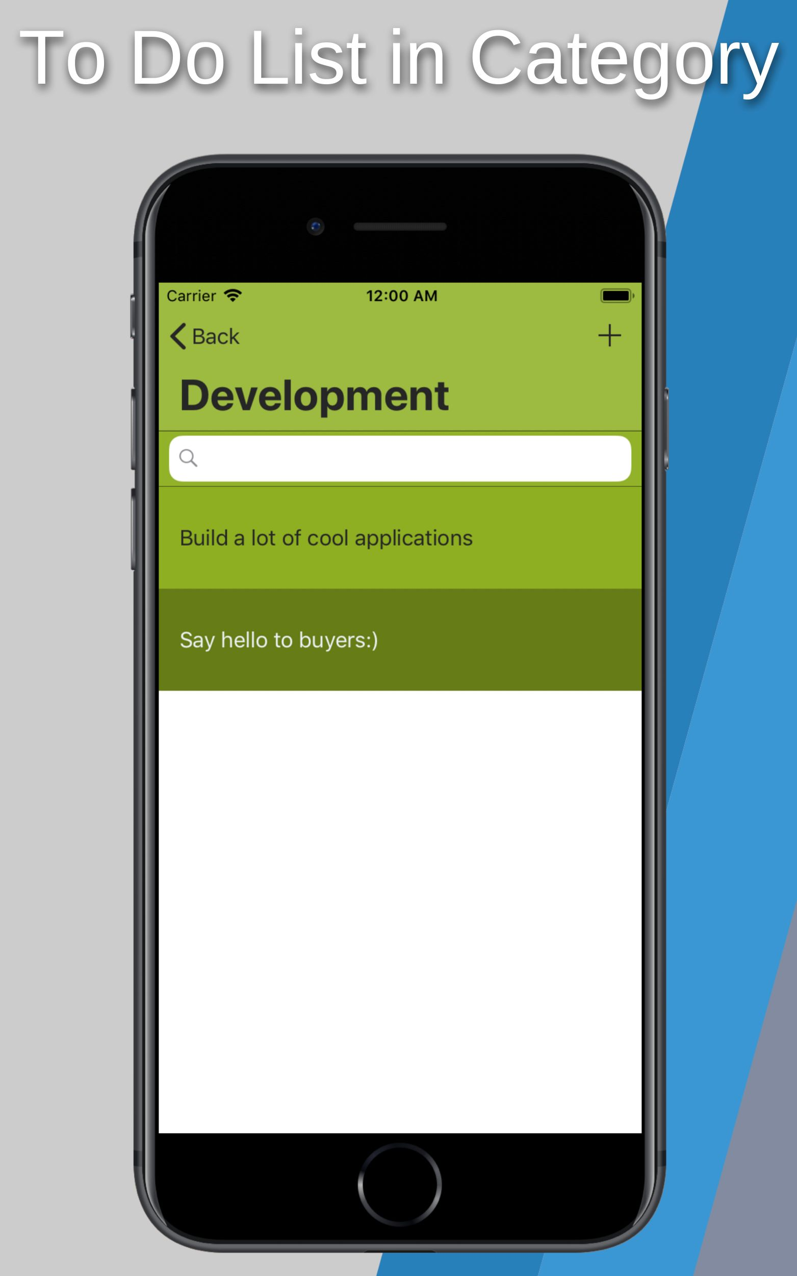 To Do Application With Firebase - iOS Source Code Screenshot 11