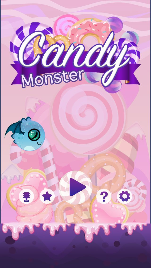 Candy Monster - Complete Unity Project Screenshot 3