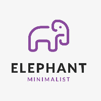 Elephant Logo Template
