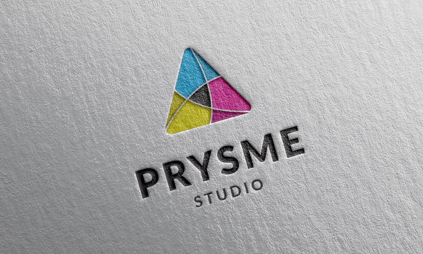 Prysme Logo Template Screenshot 1