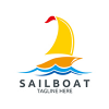 sailboat-logo-template