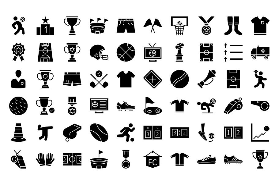 130 Football Event Vector Icons Screenshot 5