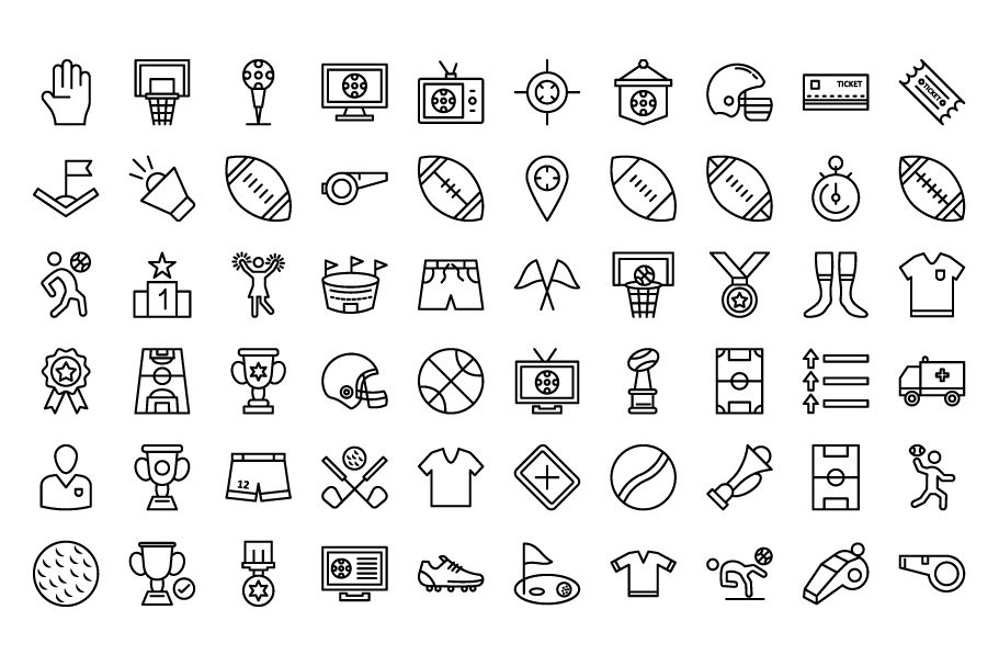 130 Football Event Vector Icons Screenshot 7