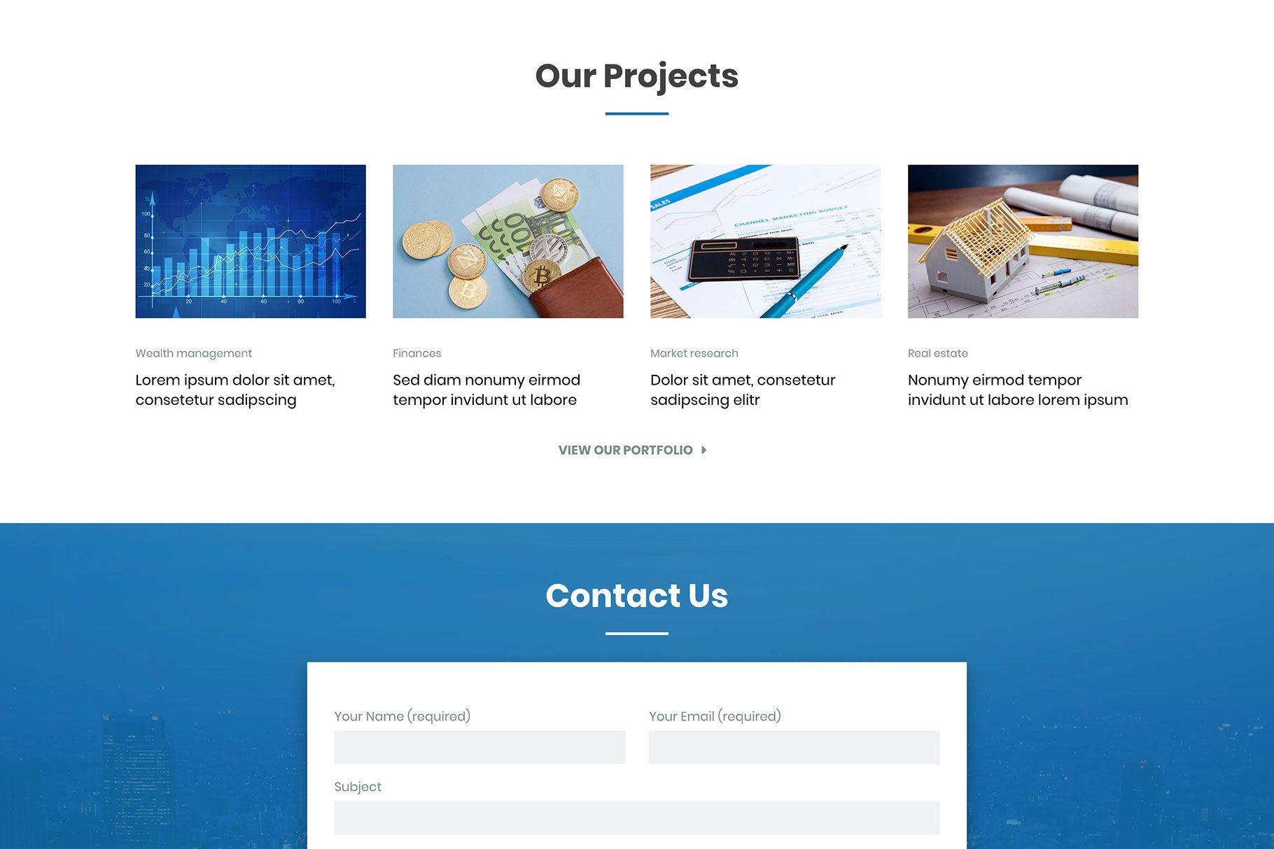 Hot Business - WordPress Gutenberg Theme Screenshot 3
