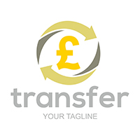 Transfer Pounds - Logo Template
