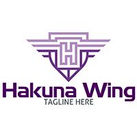 Hakuna Wing - Logo Template