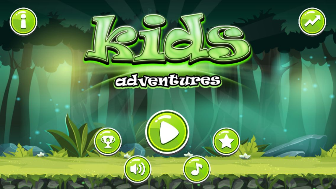 Kids Adventure Android iOS Buildbox with Applovin  Screenshot 1