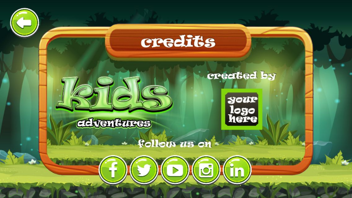 Kids Adventure Android iOS Buildbox with Applovin  Screenshot 6