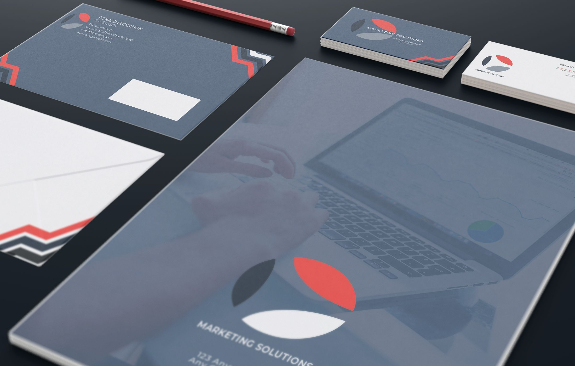 Marketing Branding Identity - 15  Print Templates Screenshot 1