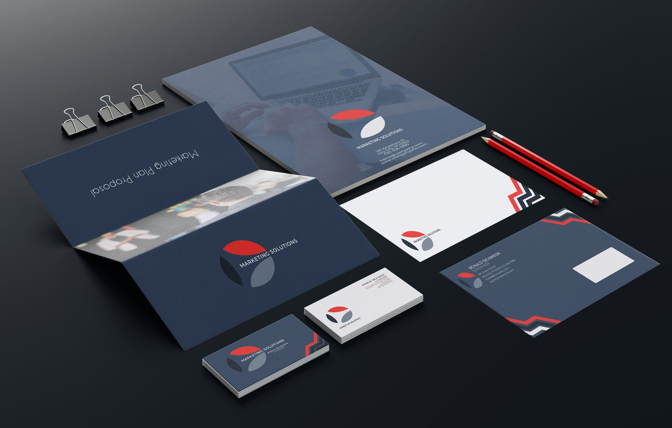 Marketing Branding Identity - 15  Print Templates Screenshot 2