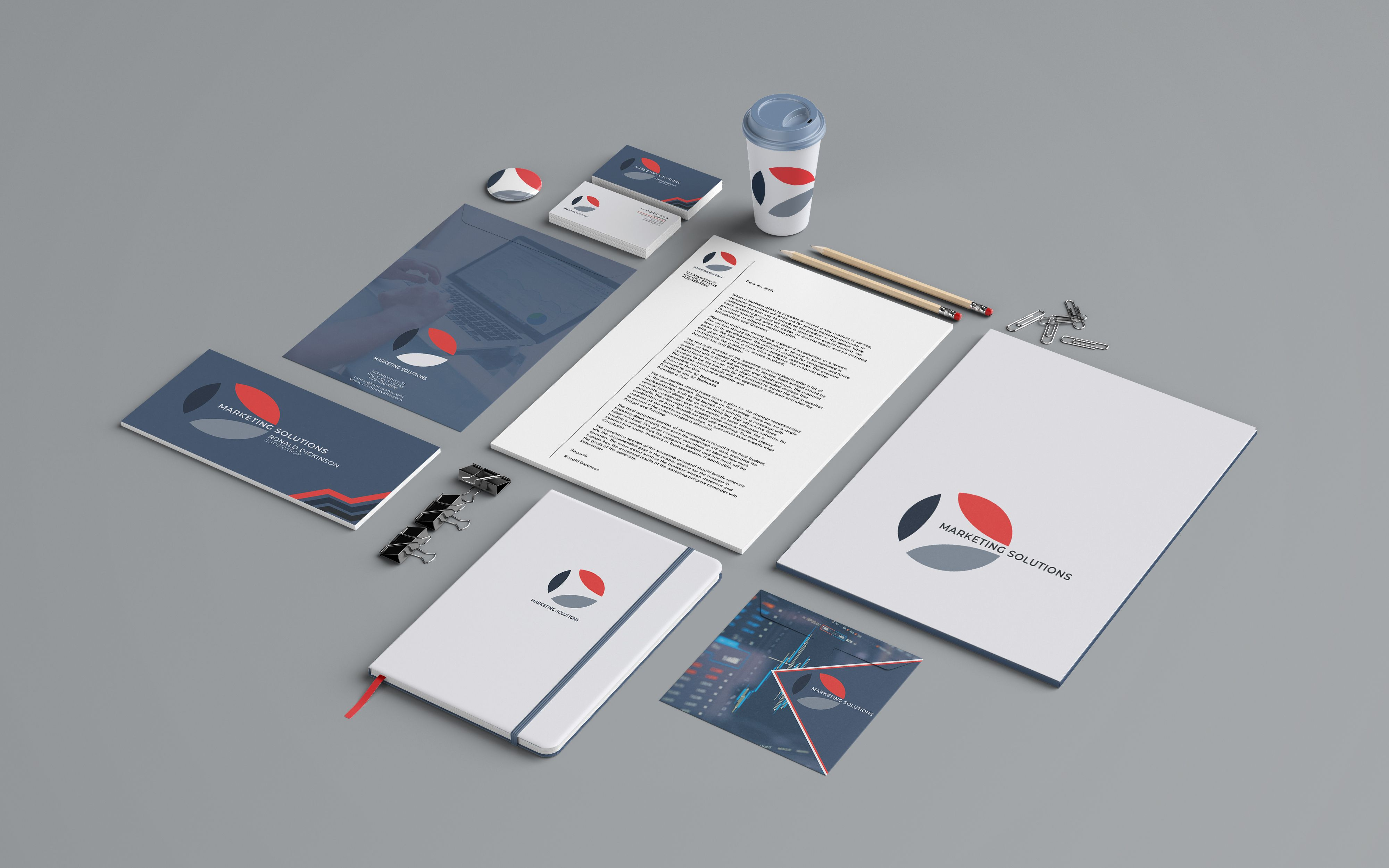 Marketing Branding Identity - 15  Print Templates Screenshot 4