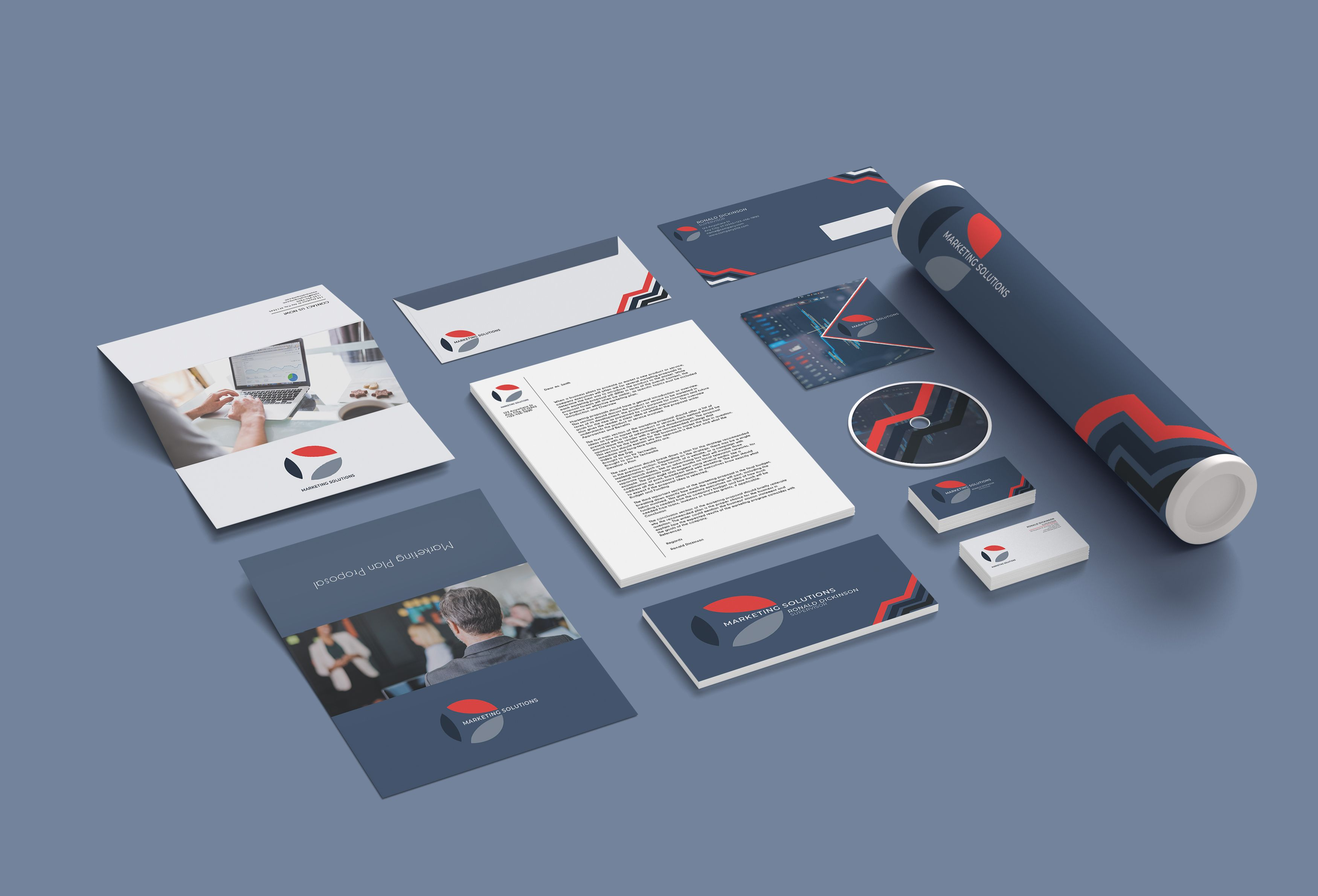Marketing Branding Identity - 15  Print Templates Screenshot 5