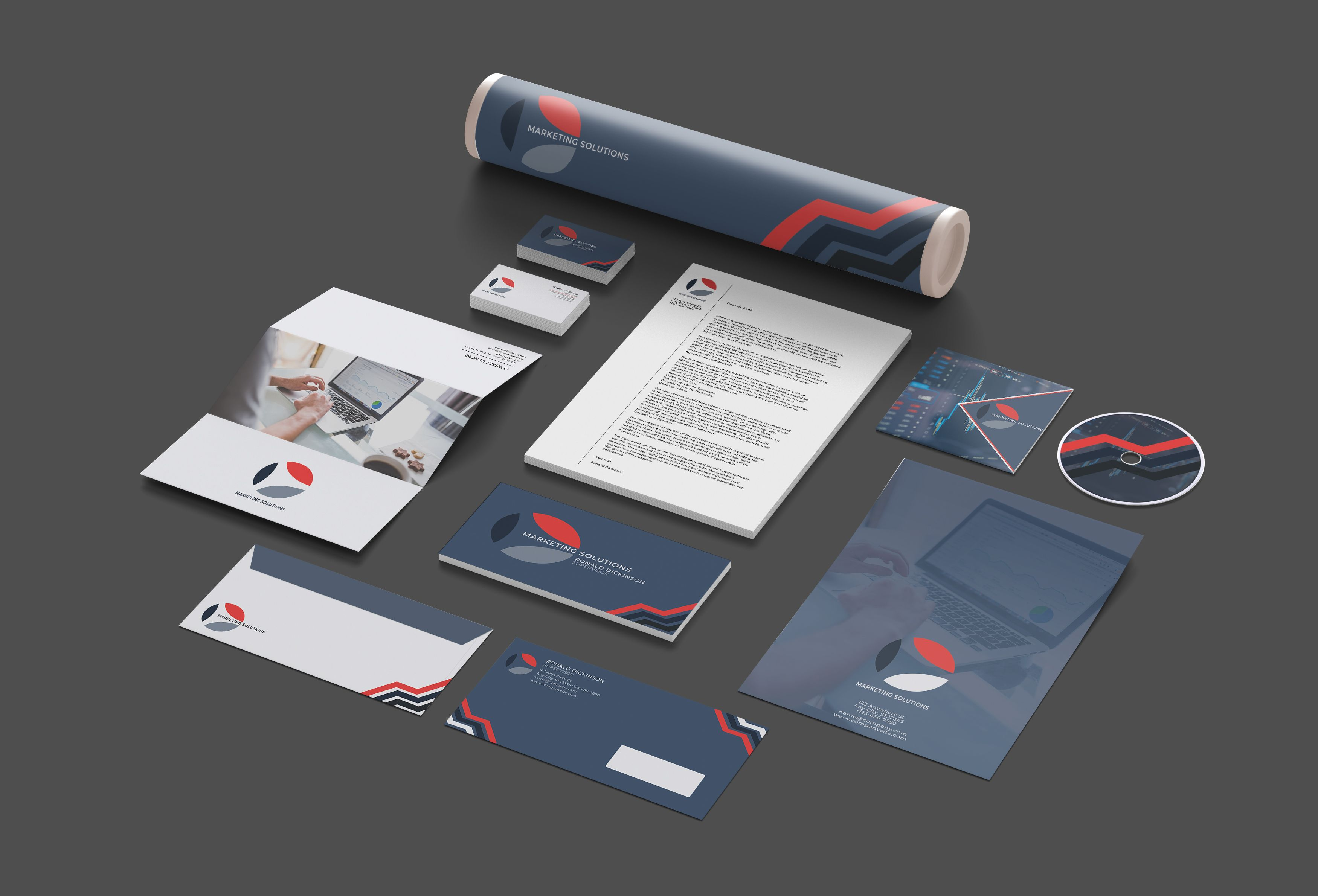 Marketing Branding Identity - 15  Print Templates Screenshot 6