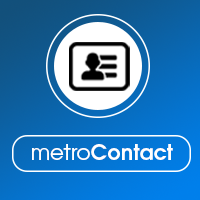 MetroContact - PHP Contact Form Template