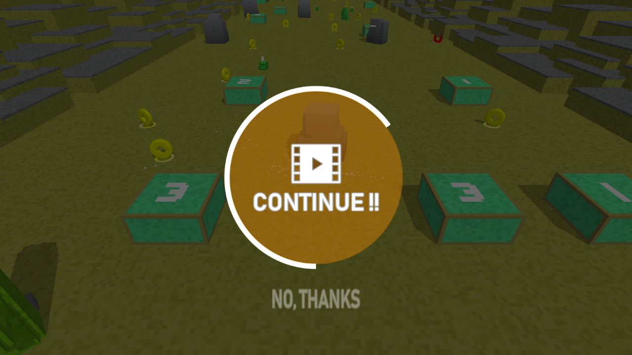 Blocky Snake - Unity Game Template Screenshot 2