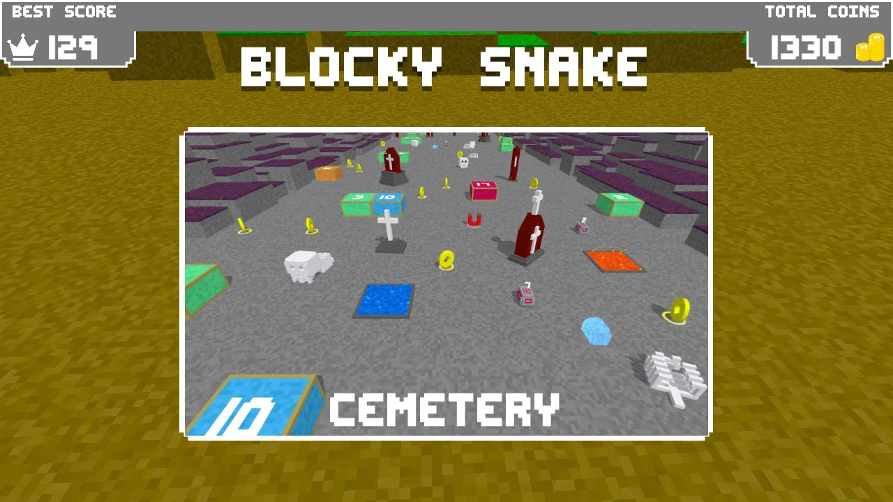 Blocky Snake - Unity Game Template Screenshot 8