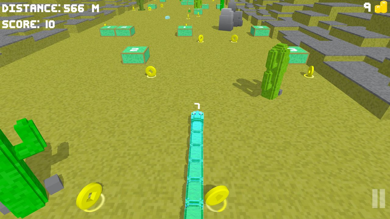 Blocky Snake - Unity Game Template Screenshot 10