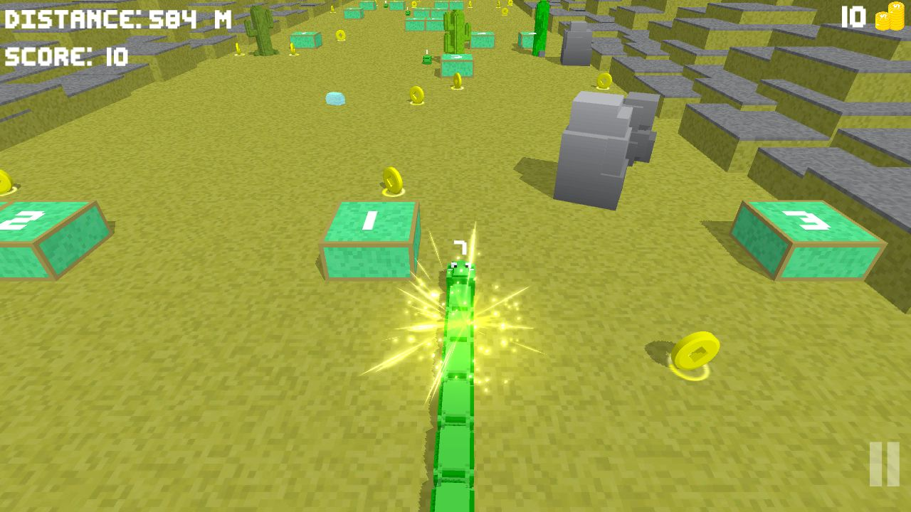 Blocky Snake - Unity Game Template Screenshot 11