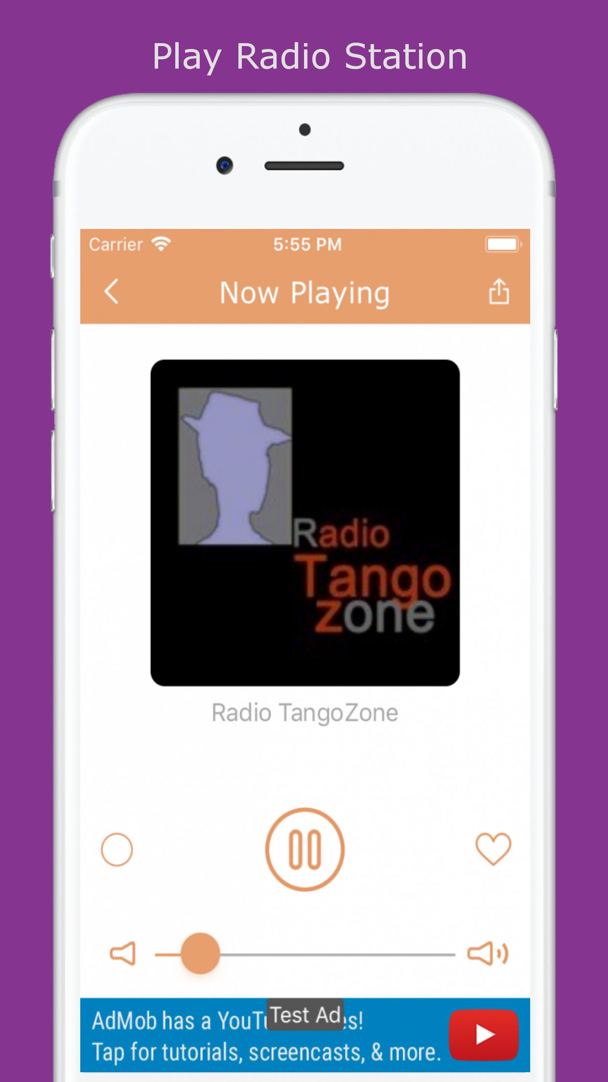 World Radio - iOS Source Code Screenshot 4
