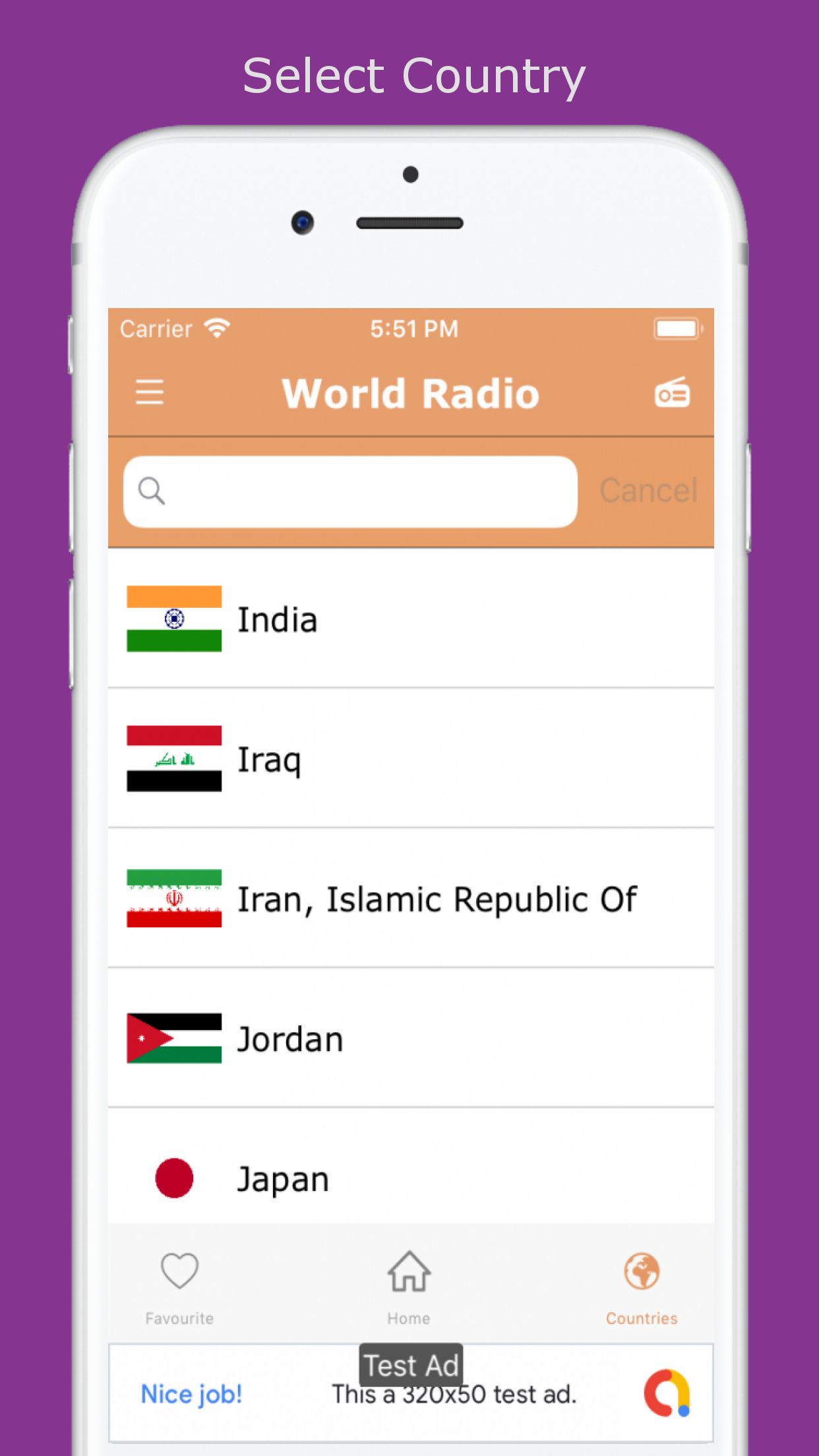 World Radio - iOS Source Code Screenshot 7