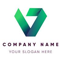 Modern Letter V Logo Design