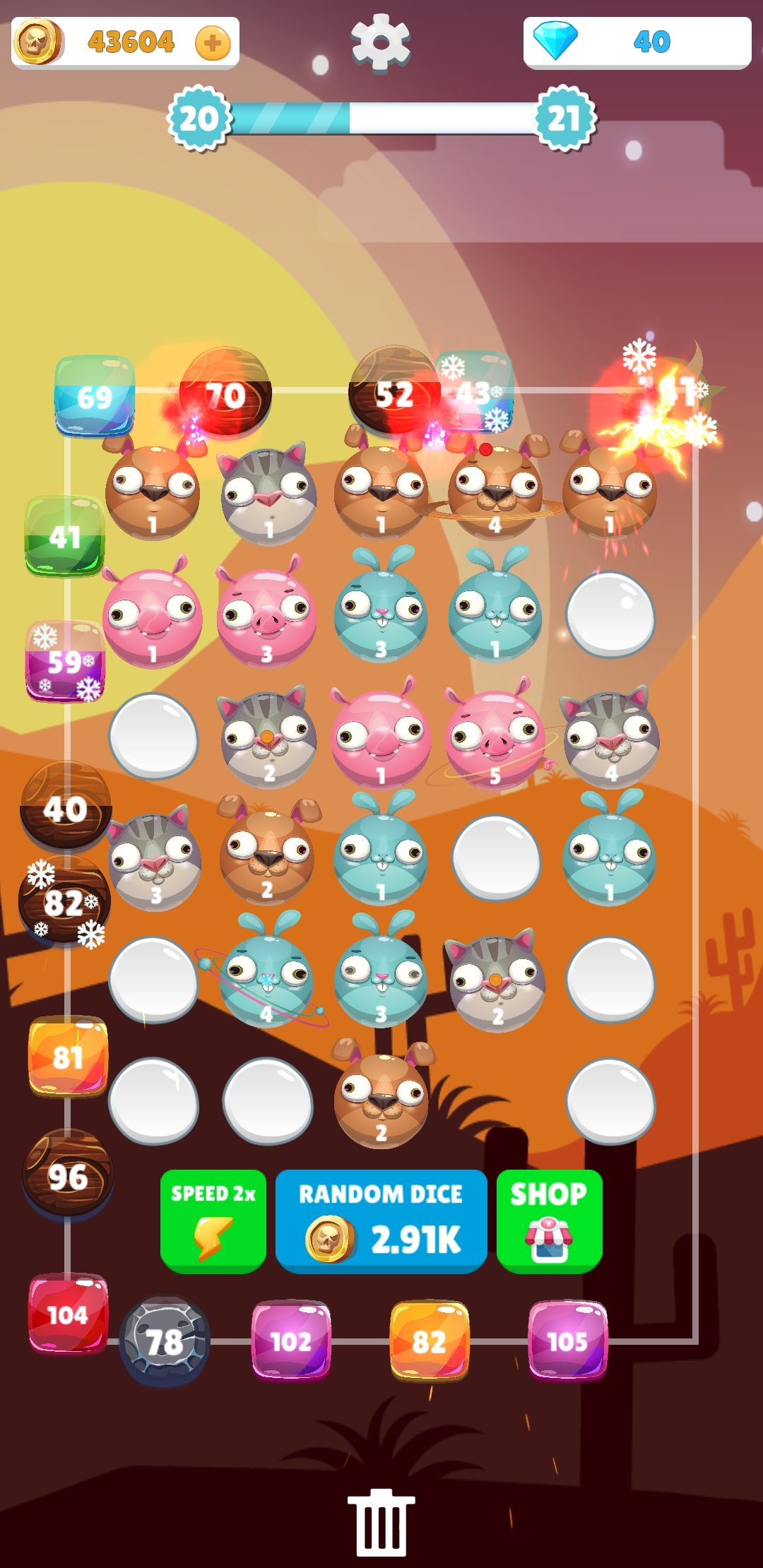 Merge Animals - Tower Defense Unity Project Screenshot 3