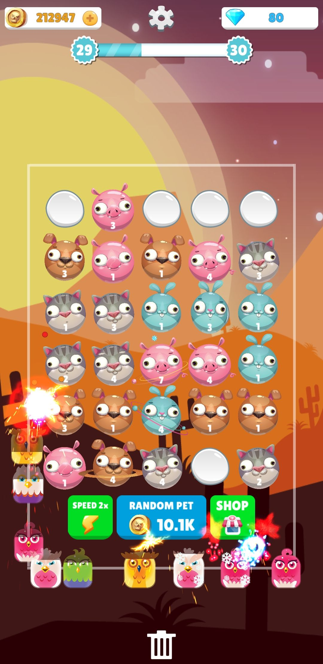Merge Animals - Tower Defense Unity Project Screenshot 5