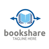 book-share-logo-template