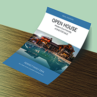 Professional Real Estate Flyer - Print Templates