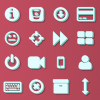 2032 3D Web Communication Icons Pack