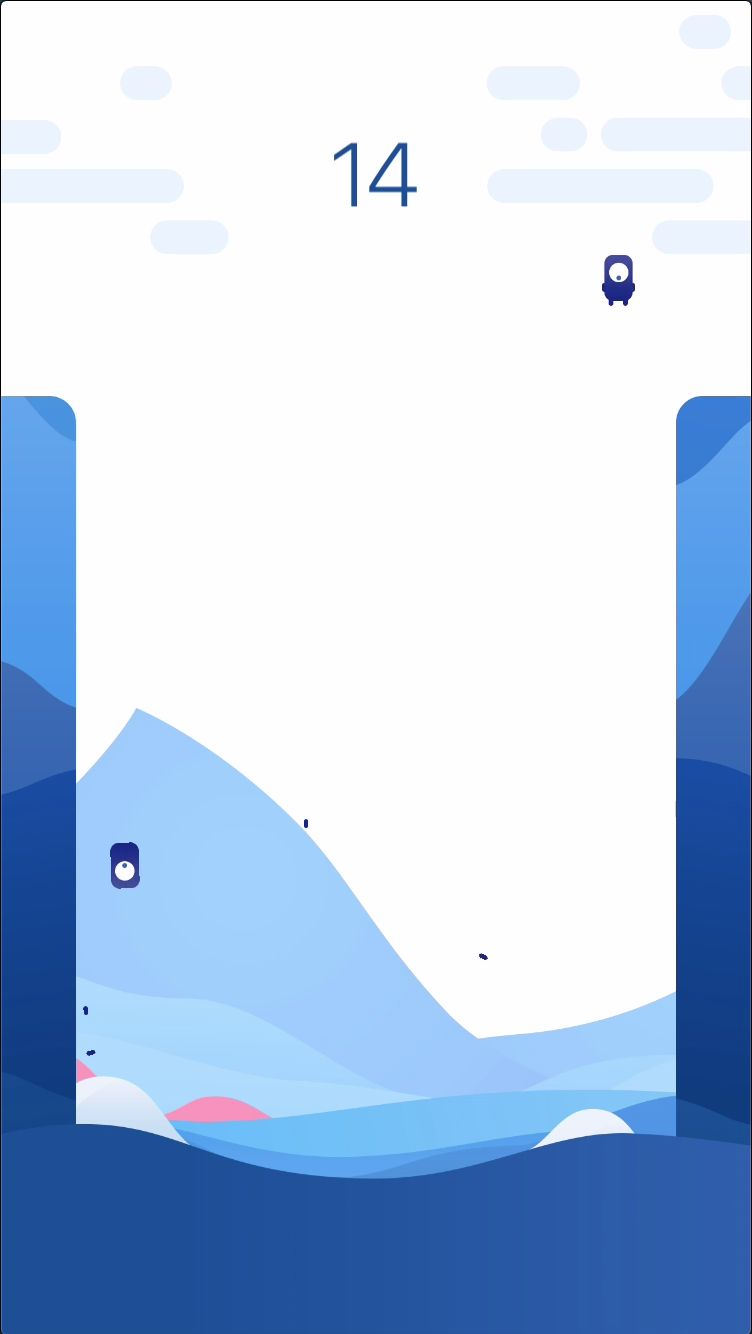 Parachute Jumper - iOS Source Code Screenshot 4