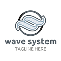 Wave Systems - Logo Template