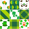 32 St Patrics Day Seamless Tileable Pattern