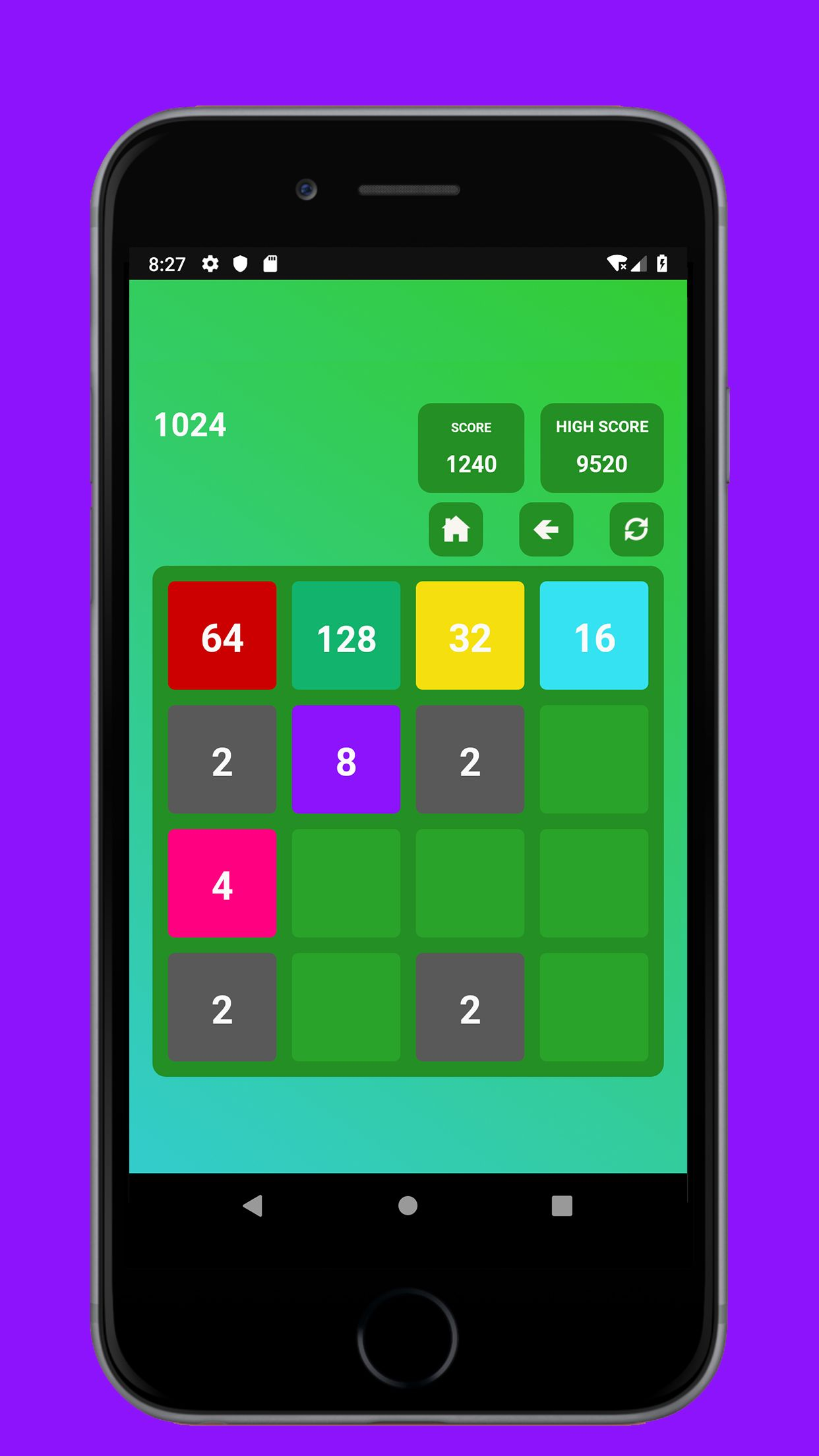 Swipe Game Version Basic - Android Template Screenshot 2