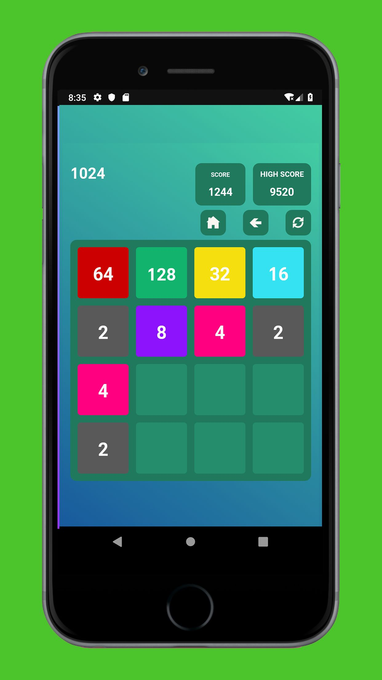 Swipe Game Version Basic - Android Template Screenshot 6