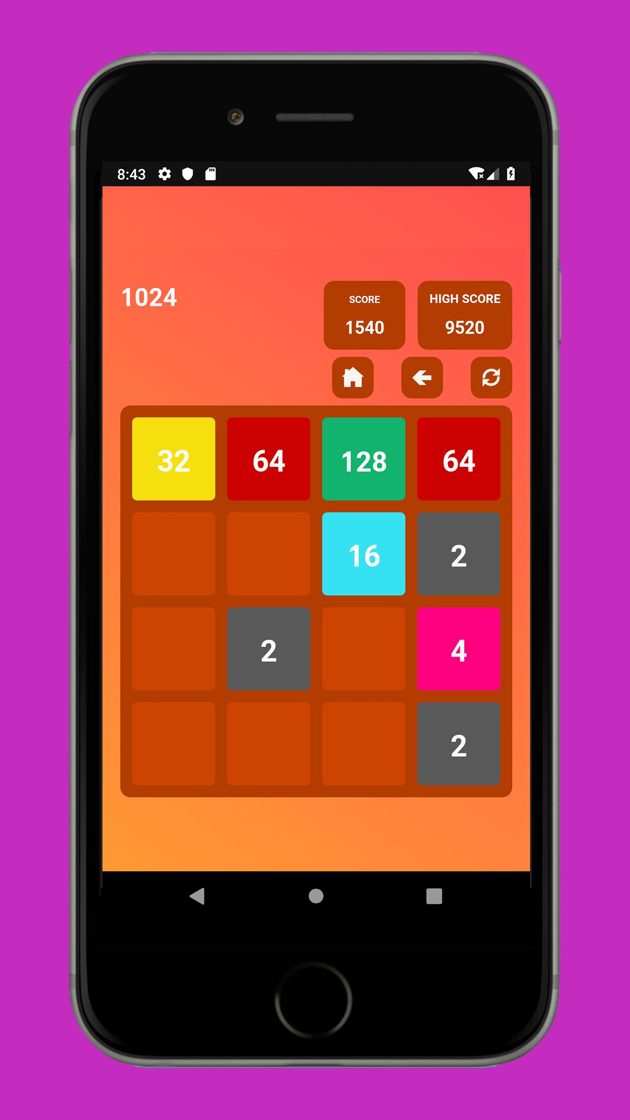 Swipe Game Version Basic - Android Template Screenshot 7