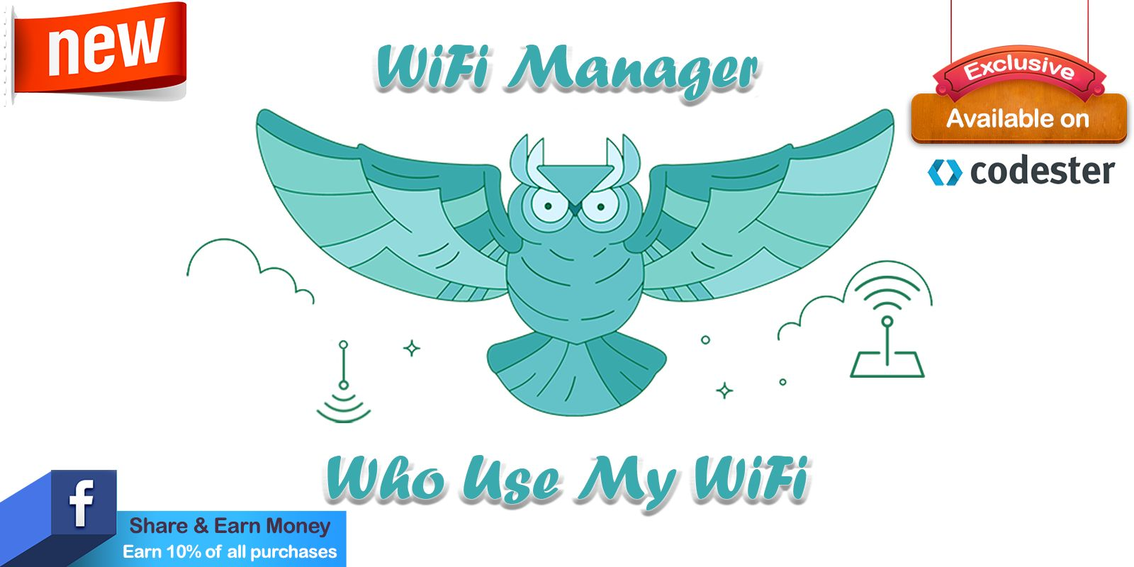 WiFi Router Manager -  Android App Source Code Screenshot 1