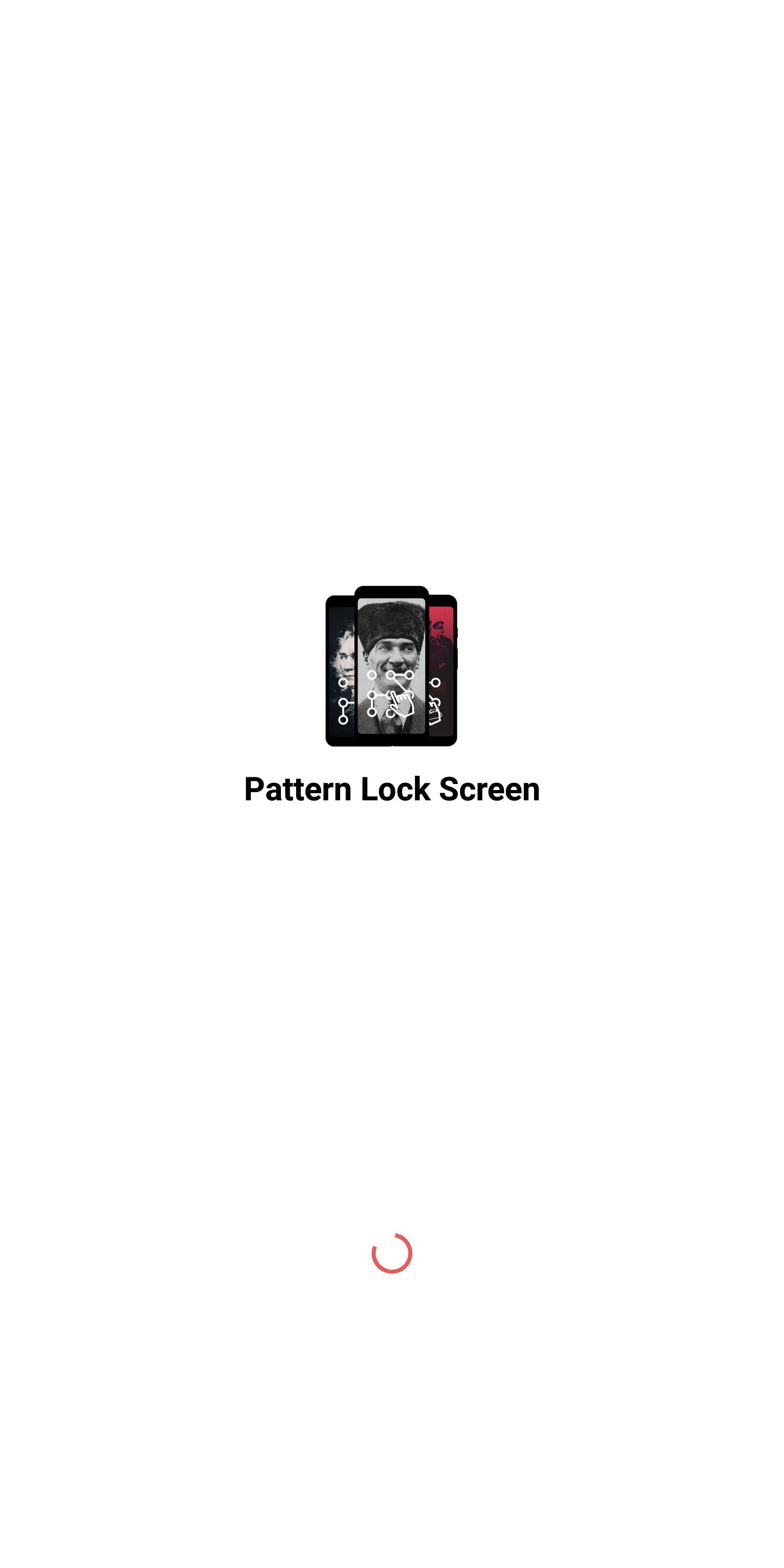Pattern Lock Screen - Android Source Code Screenshot 1